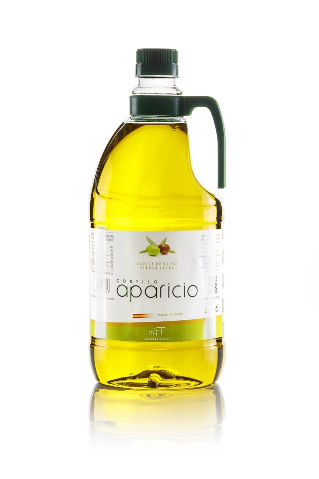 Aceite de Oliva</br>Virgen Extra </br>variedad Arbequina</br>6 Envases de 2L (12L)
