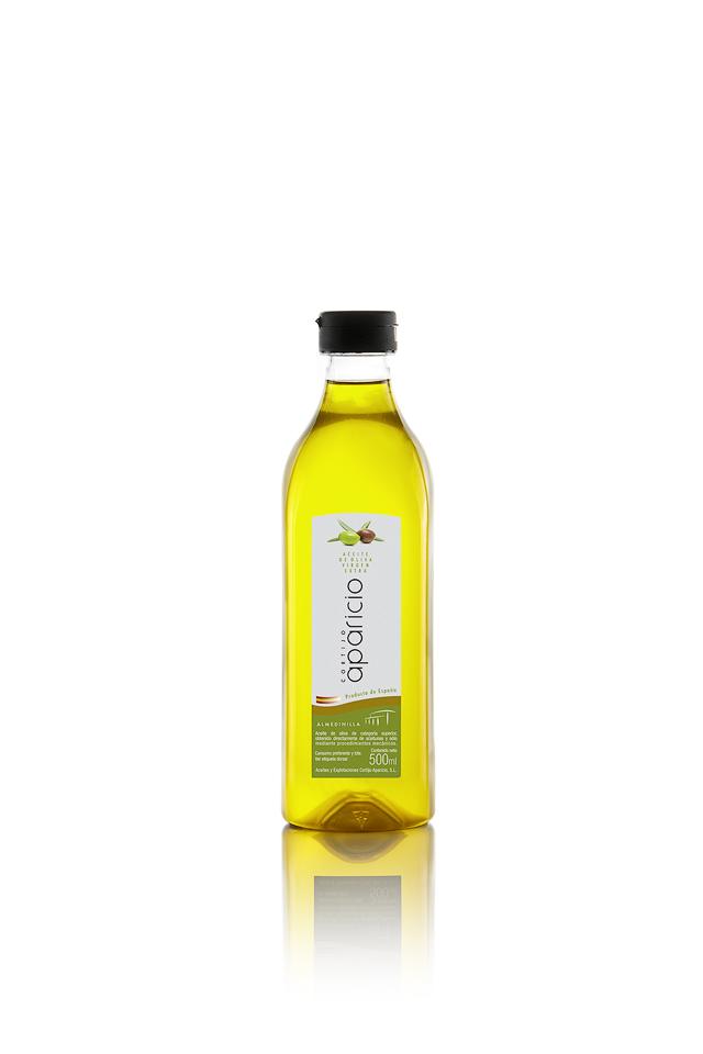Aceite de Oliva</br>Virgen Extra</br>20 Envases plástico de 500 mL (10L)