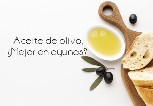 ¿Tomar aceite de oliva en ayunas?