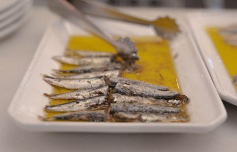 aceite de oliva- sardinas