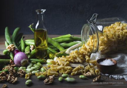 Dieta vegetarina y aceite de oliva