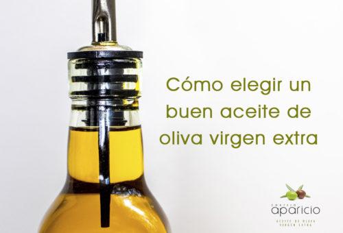 Cómo elegir un buen aceite de oliva